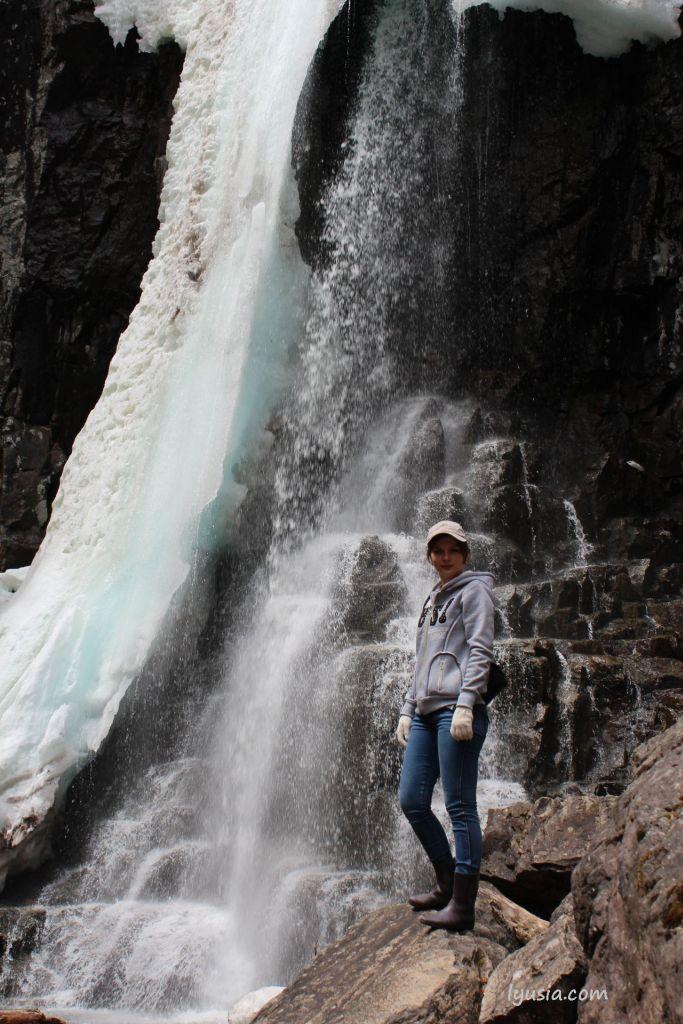 Еломовские водопады, или Беневские водопады.